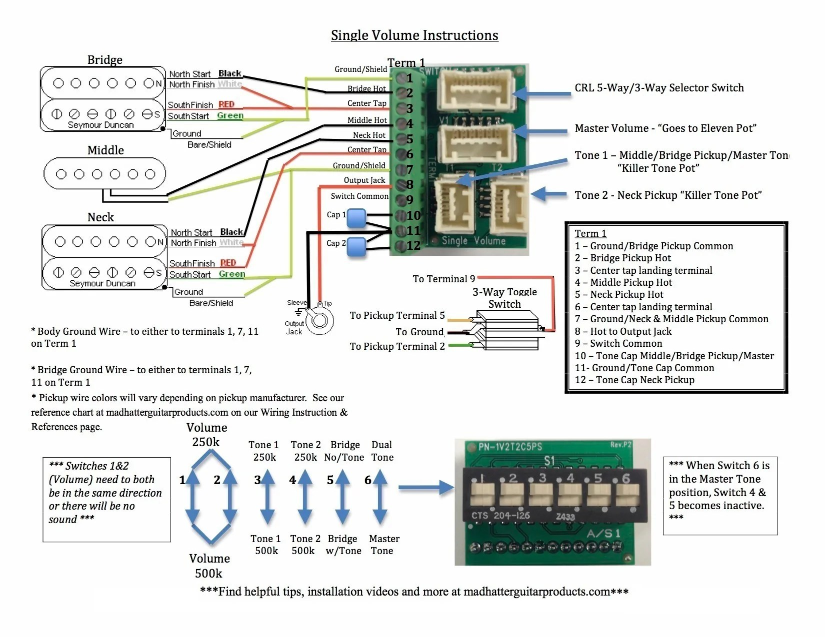 hight resolution of wiring instructions u2013 mad hatter guitar productsmad wiring diagram 20
