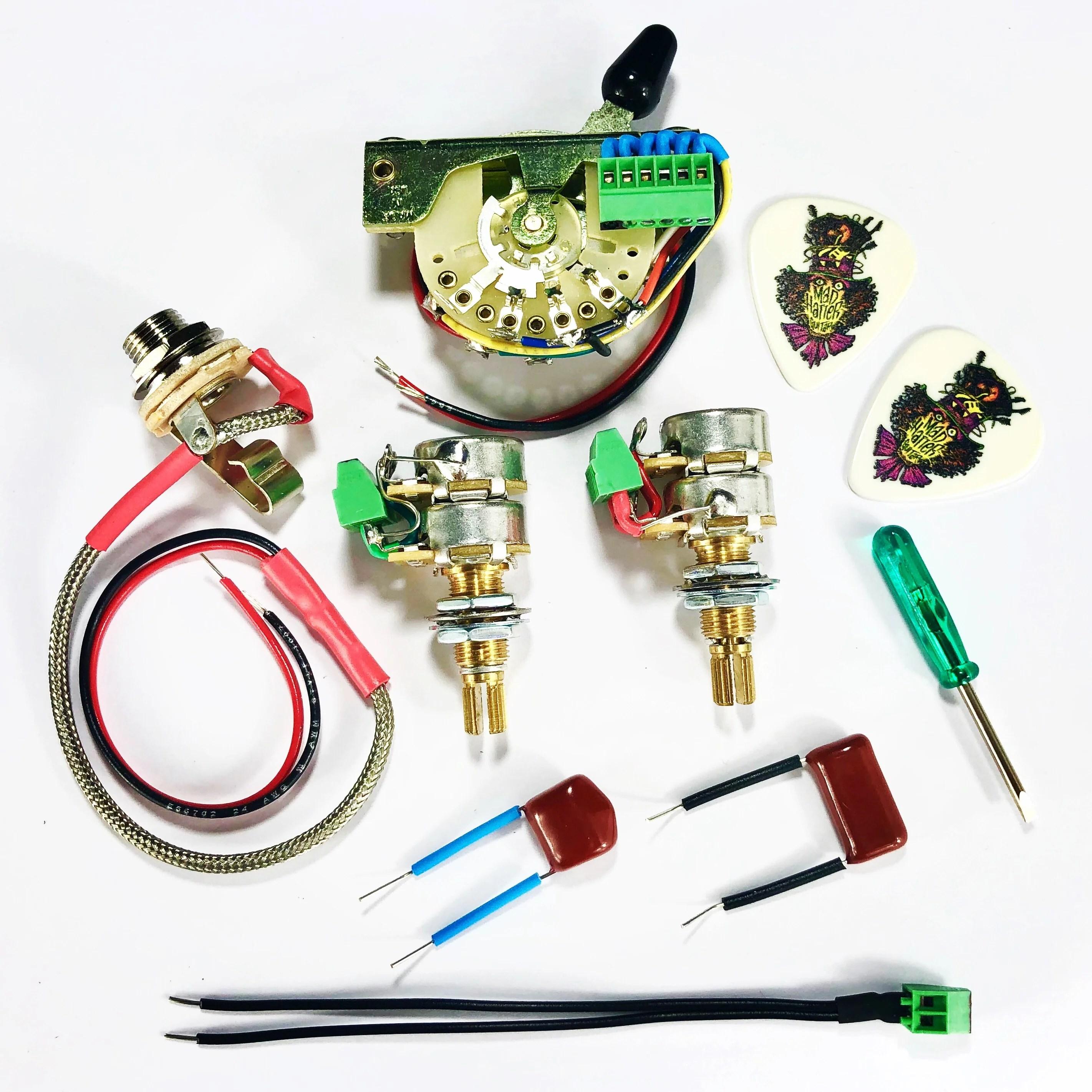 medium resolution of terminator single volume single tone system with 5 way selector switch svst 5s