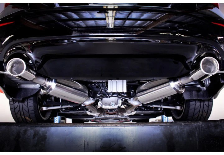 stillen stainless steel cat back exhaust system q50