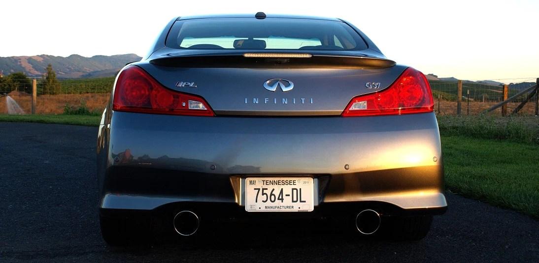 Infiniti G37 Back Bumper