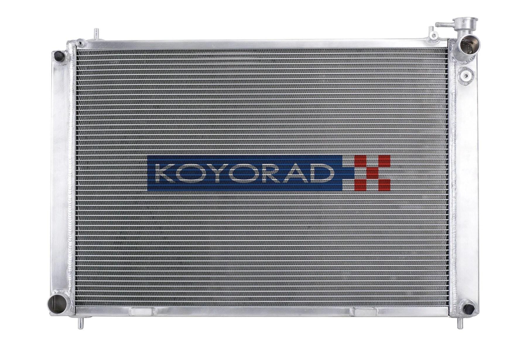 small resolution of koyorad 36mm aluminum racing radiator g35 outcast garage