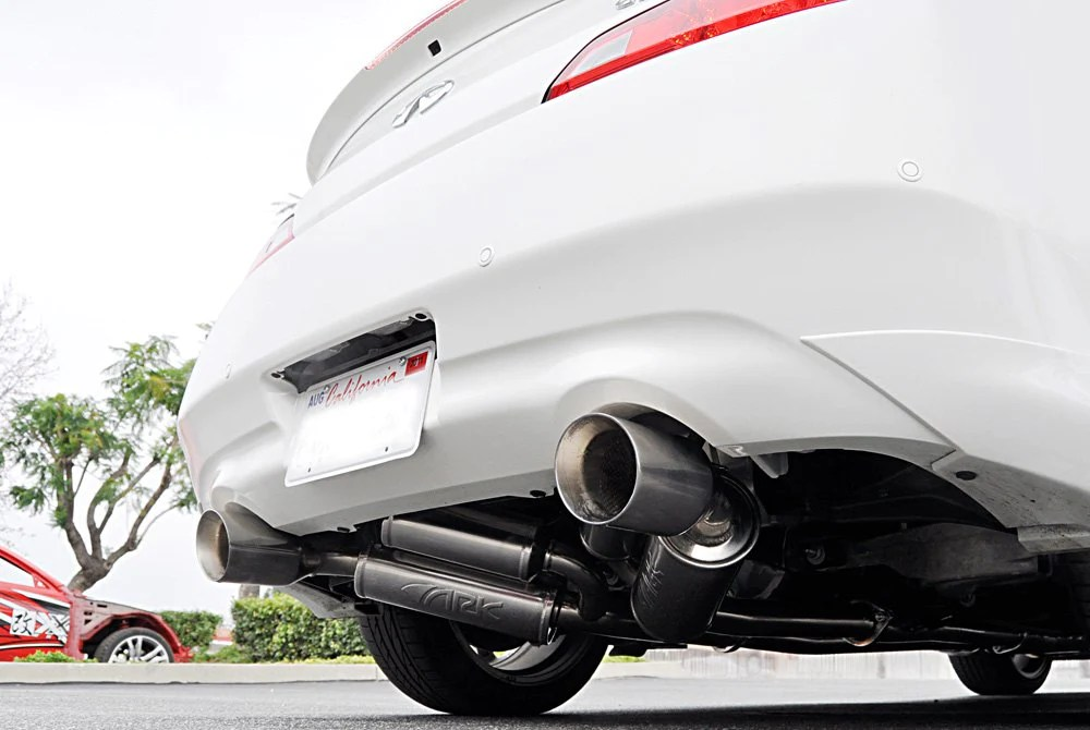 ark performance sm1102 0103g grip true dual exhaust polished tip infiniti 08 13 g37 14 15 q60 coupe rwd cv36