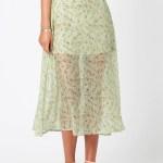 MINKPINK Rosalina Midi Skirt