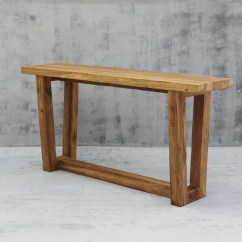 Teak Sofa Table George Nelson Style Marshmallow Console Apache Rose