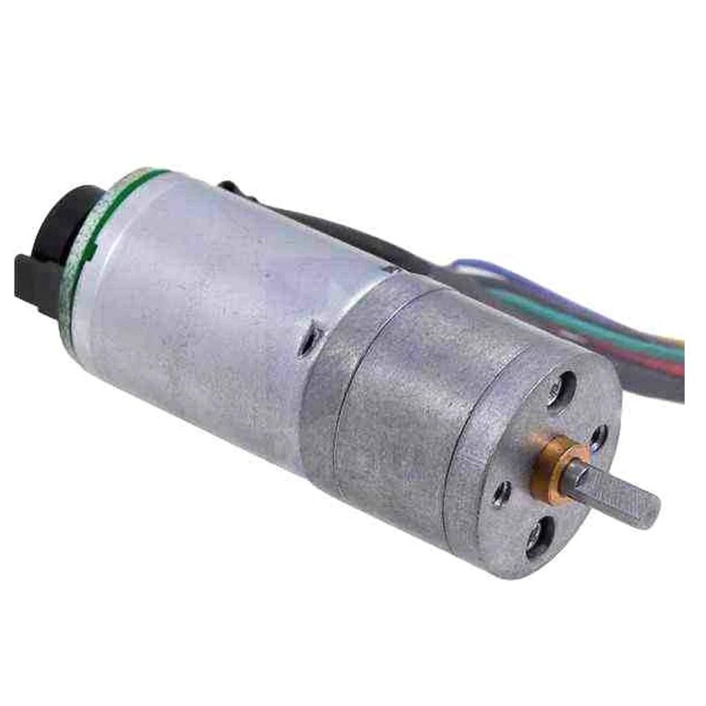 hight resolution of dc motor with encoder 3 2 kg cm 250 rpm 6v