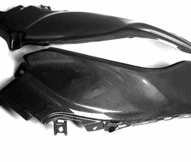 Suzuki Carbon Fiber Hayabusa Gsx 1300r Long Dash Panel Set 2008 2013 Mdi Carbonfiber