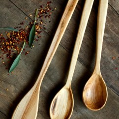Kitchen Utensil Wall Organizer Basic Wood Set Old World