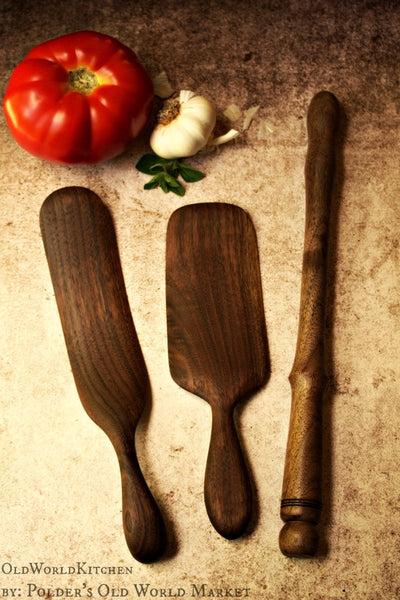 Scottish Spurtle Collection  Set of Three  Old World Kitchen