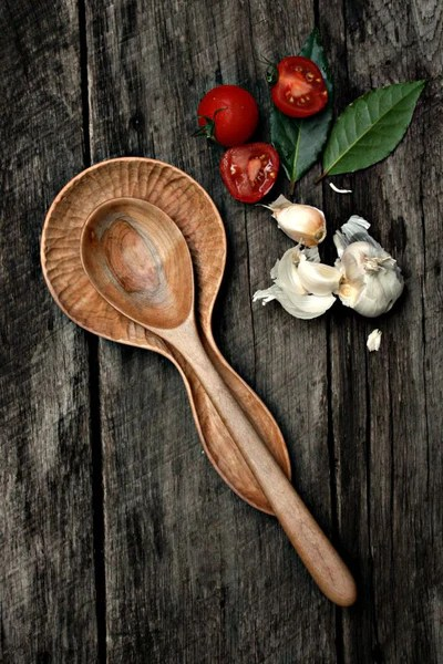 cherry wood kitchen table kate spade hand carved spoon rest – old world