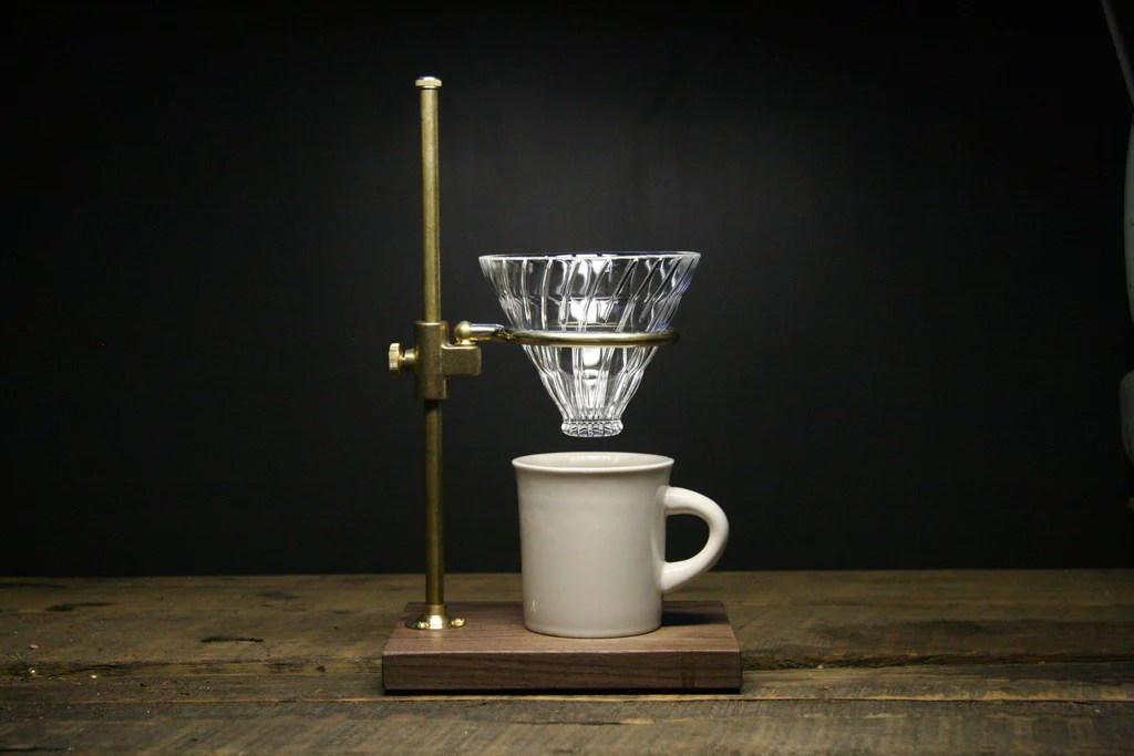 The Clerk Pour Over Stand  The Coffee Registry