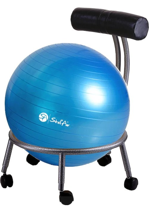 Custom Fit Adjustable Balance Ball Chair  The Inside