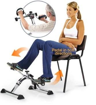 Deluxe Folding Pedal Exerciser  The Inside Trainer Inc