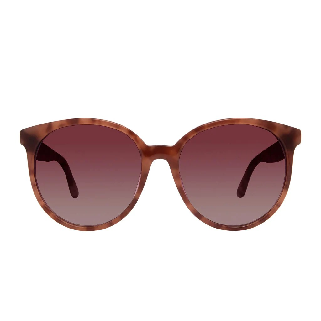 Cosmo - Plum Tortoise Wine Gradient Diff Eyewear