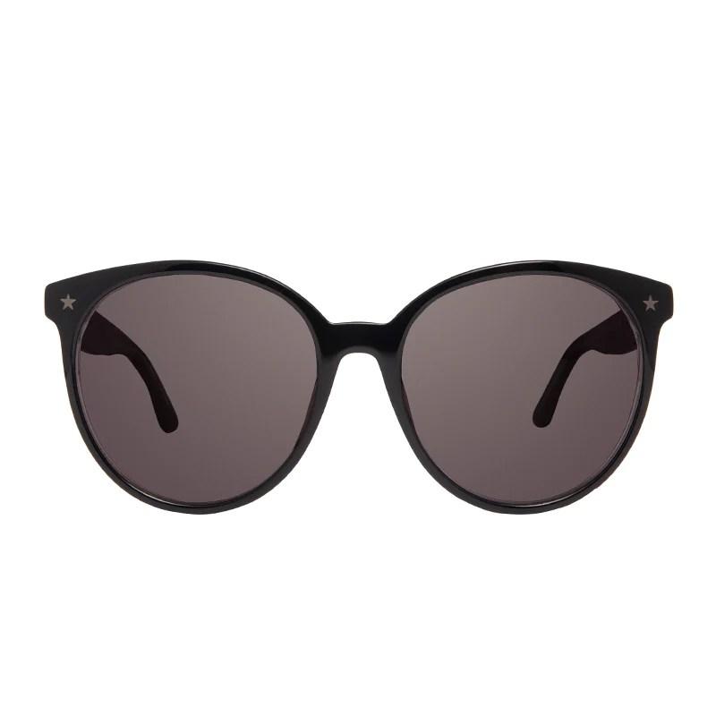 Cosmo Aquarius - Black Silver Glitter Smoke Diff Eyewear