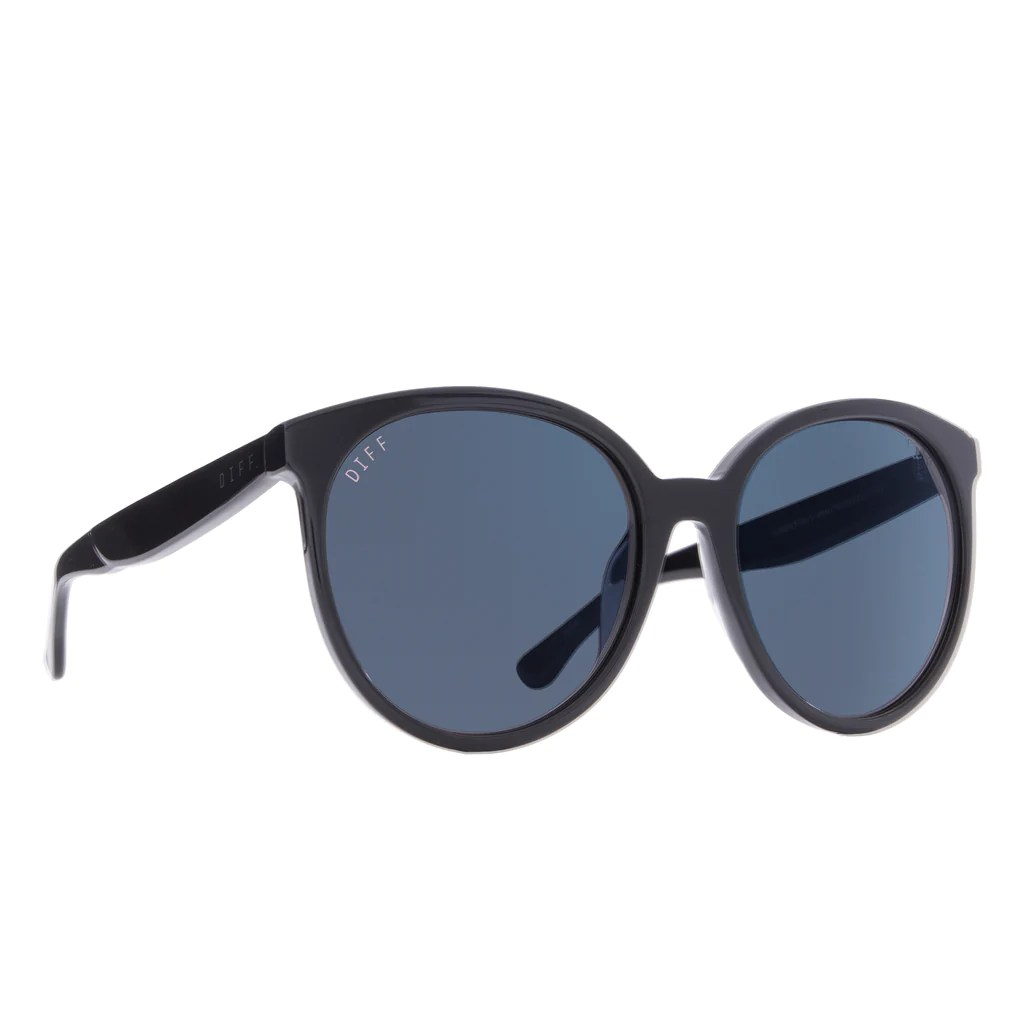 Cosmo Sunglasses Black Frames & Dark Smoke Lenses
