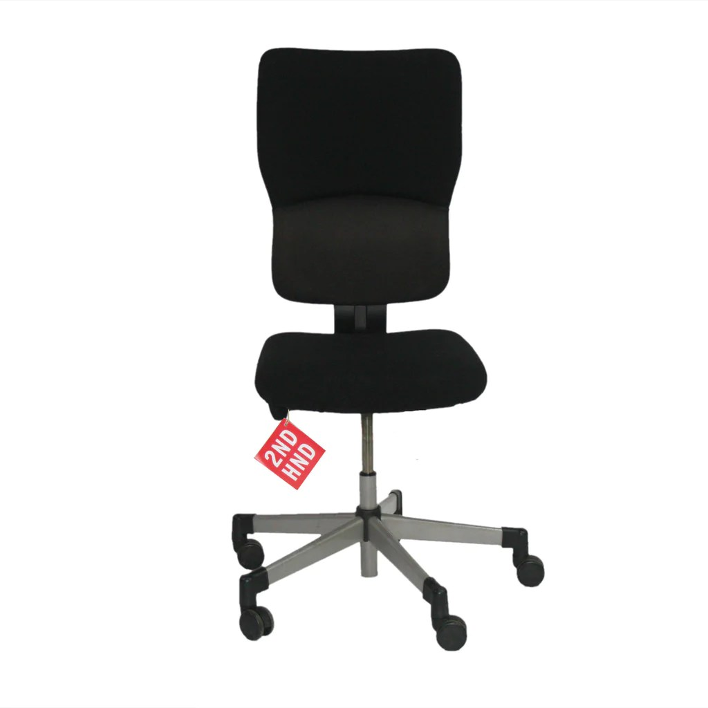 swivel office chair no arms bucket seat task chairs with at depot