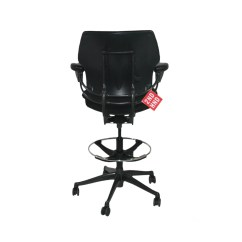 Humanscale Liberty Office Chair Review White Leather Chairs For Living Room Freedom Med Back Draughtsman In Black