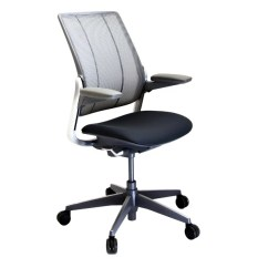 Diffrient Smart Chair Bar Height Chairs With Arms Humanscale 2ndhnd Com Quality Office Furniture