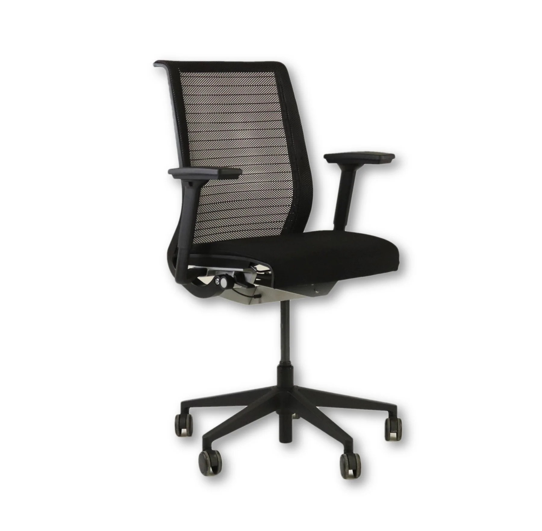 Steelcase Think Chair Steelcase Think Black Office Chair Mesh Back