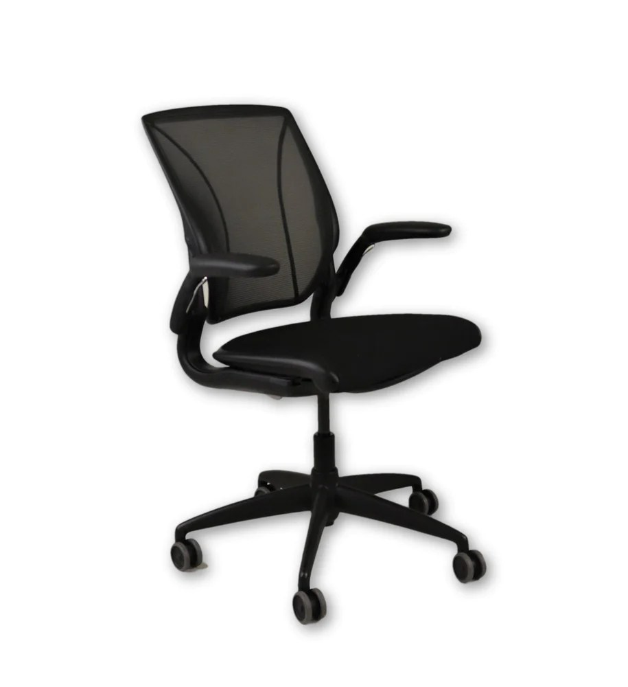 Humanscale Diffrient World Chair Humanscale Diffrient World Chair Fabric Seat And Mesh Back