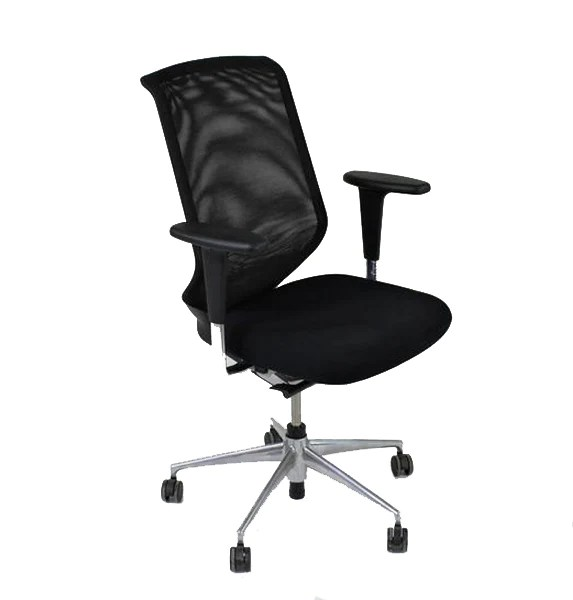 vitra ergonomic chair black accent id soft citterio mesh back office 2ndhnd com quality