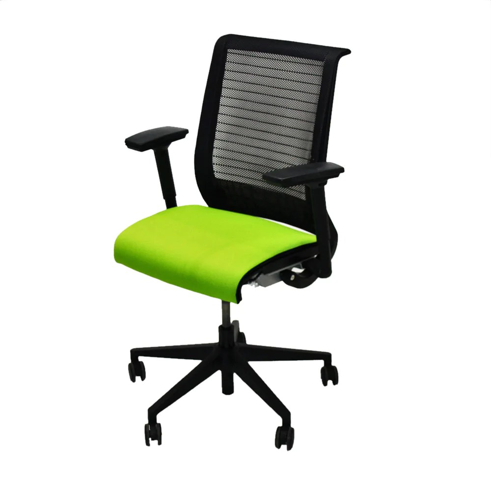 Steelcase Think Chair Steelcase Think Office Chair In New Green Fabric
