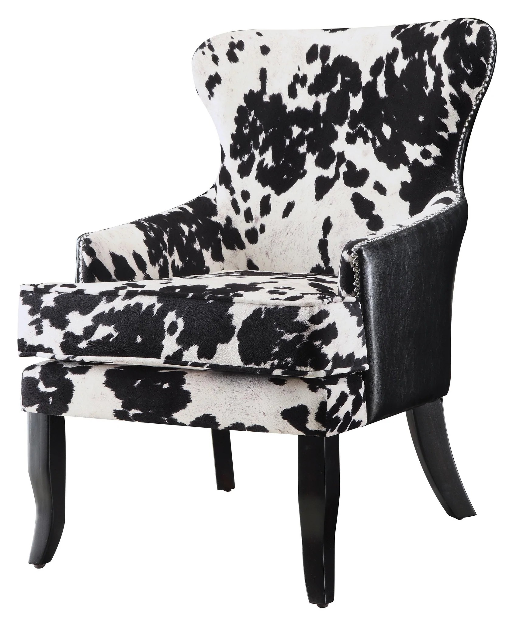 cow print chair covers ebay uk mooey modern black and white