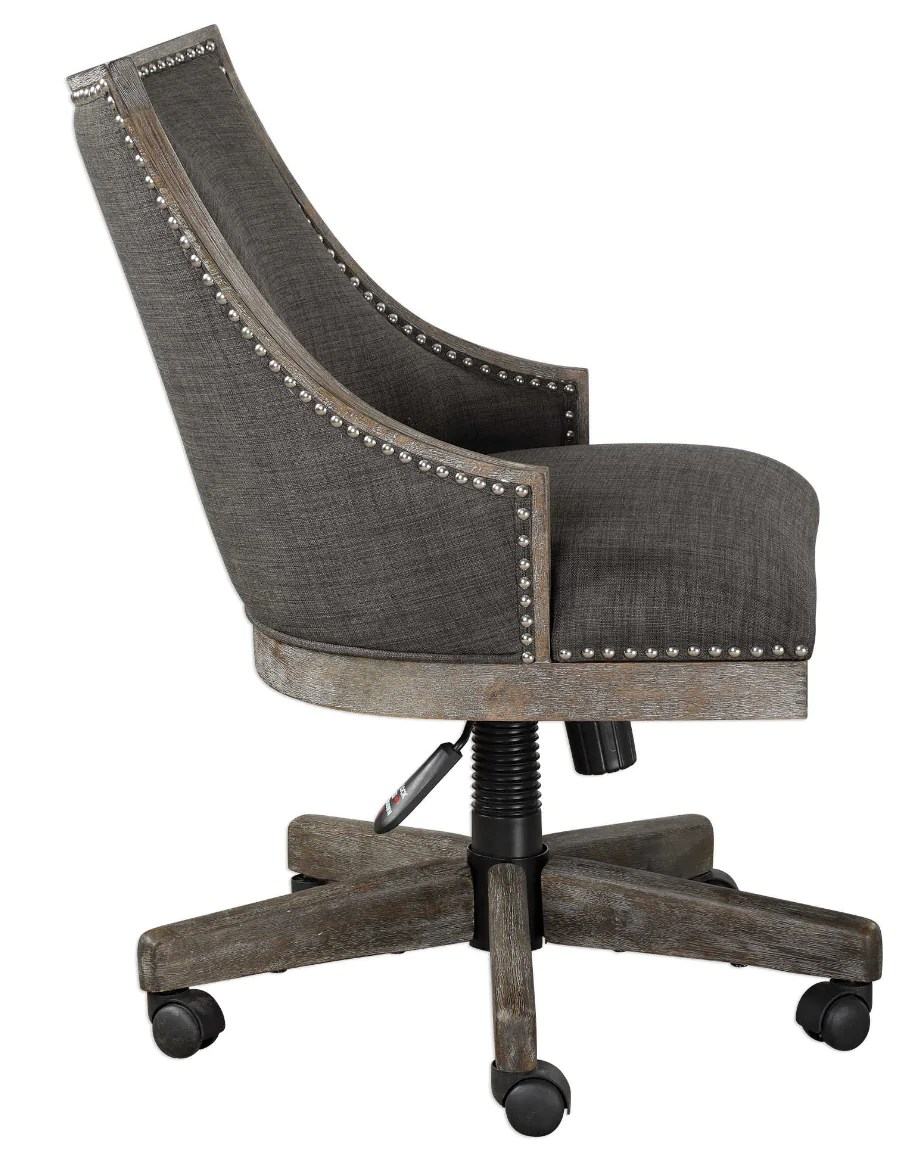 Linen Office Chair Stewart Desk Chair