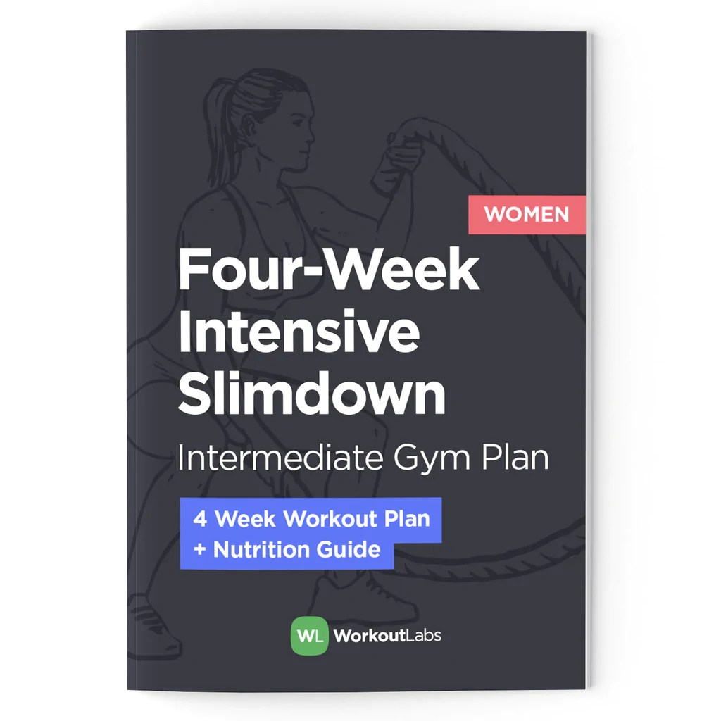 small resolution of  array 4 week intensive slim down gym plan u0026 nutrition guide pdf ebook rh workoutlabs