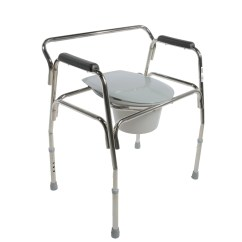 Heavy Duty Commode Chair Design Within Reach Womb Extra Wide Bariatric Free Shipping