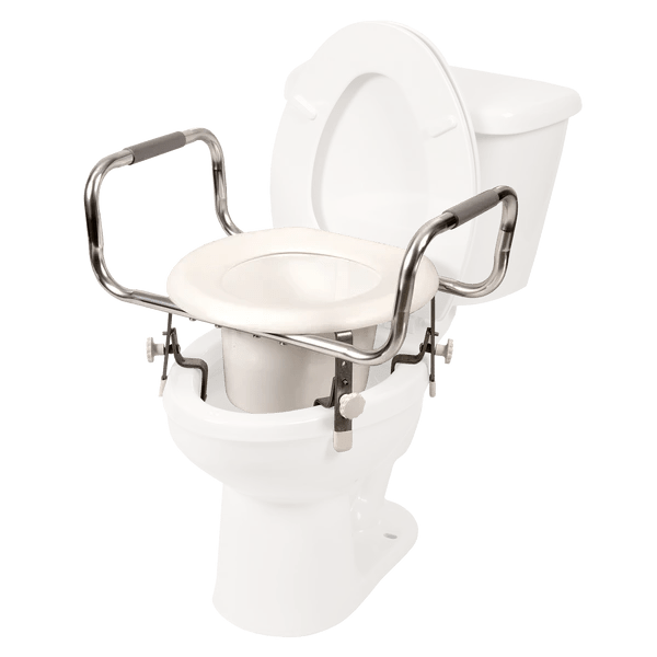 Adjustable Hight Raised Toilet Seat  Free Shipping  Home