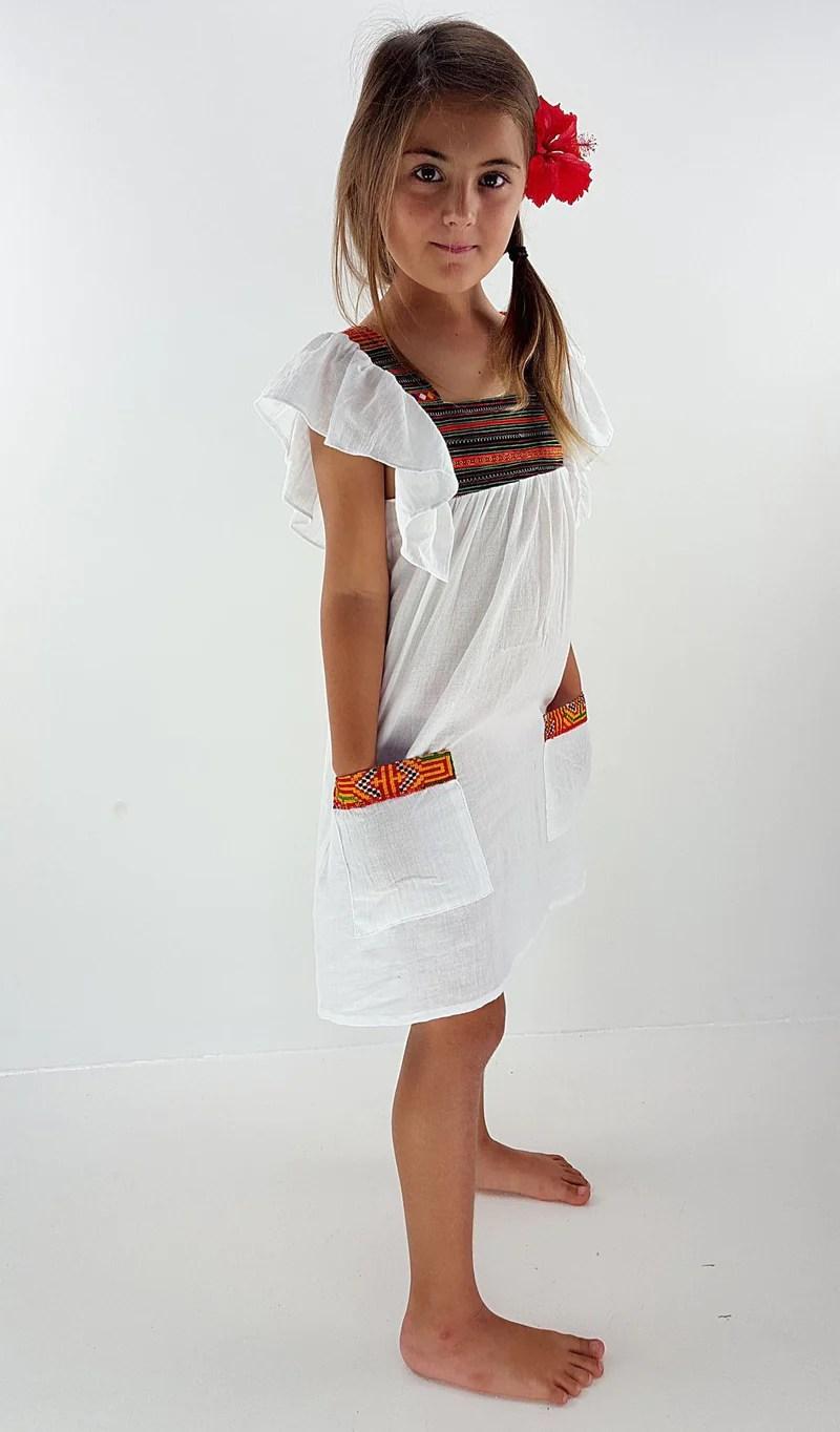 Barefoot Little Girl Dress