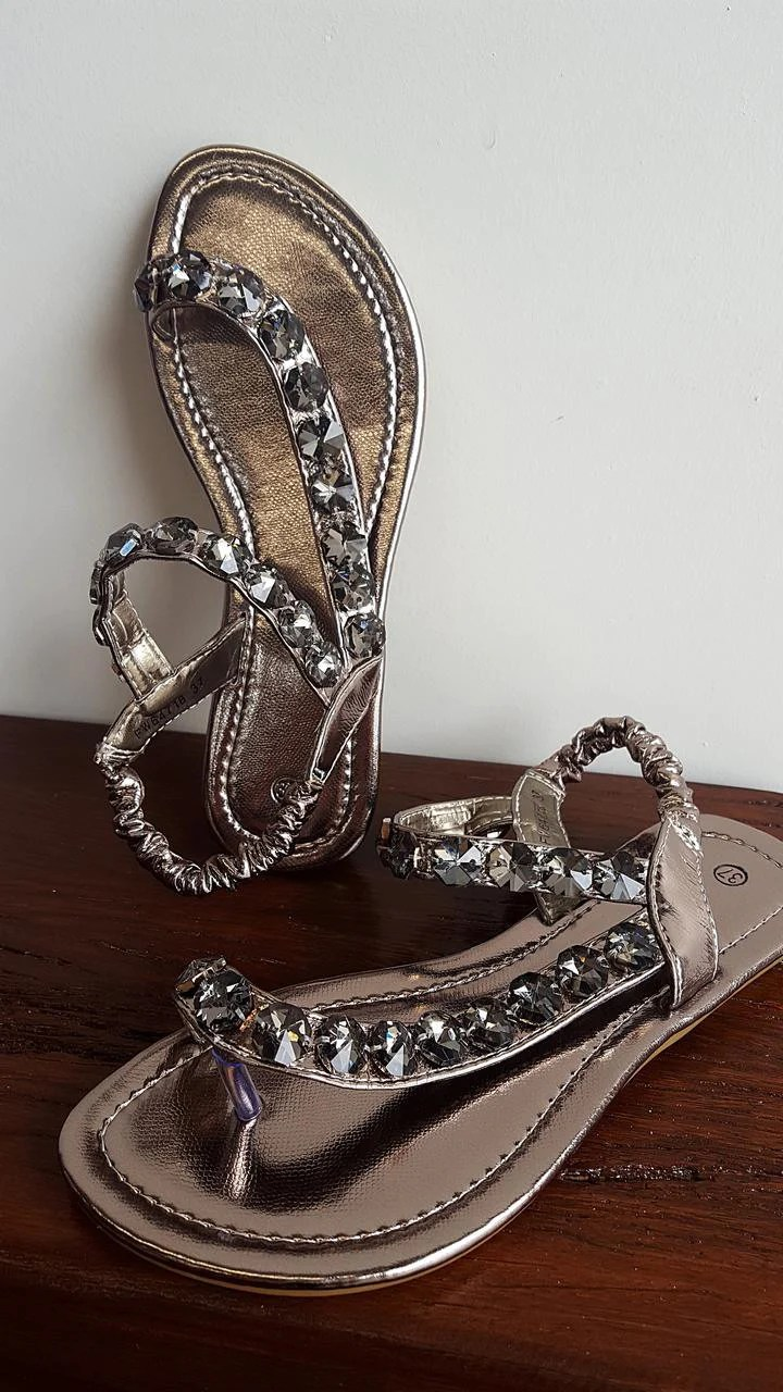 Bling It On Womens Summer Sandals  KOBOMO