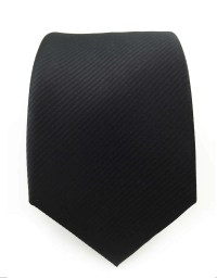 "Solid Black Tie - 3.25""  GentlemanJoe"