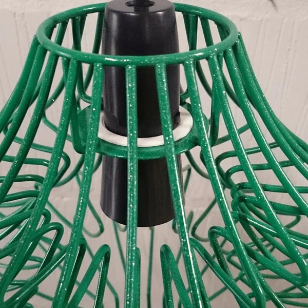 Claus Metal Wire Frame Lampshade Christmas Tree Light Festive Decoration  HomemakingHeaven