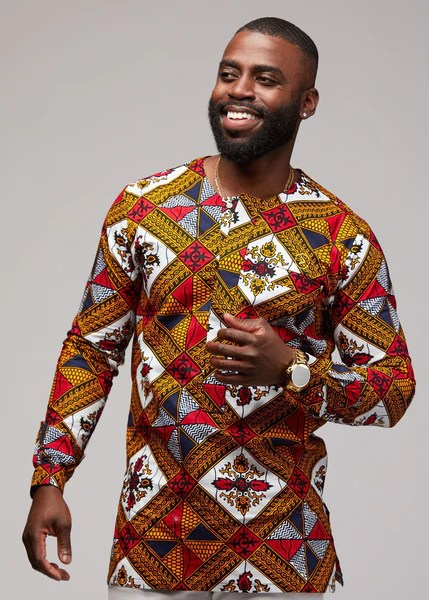 african clothing for men