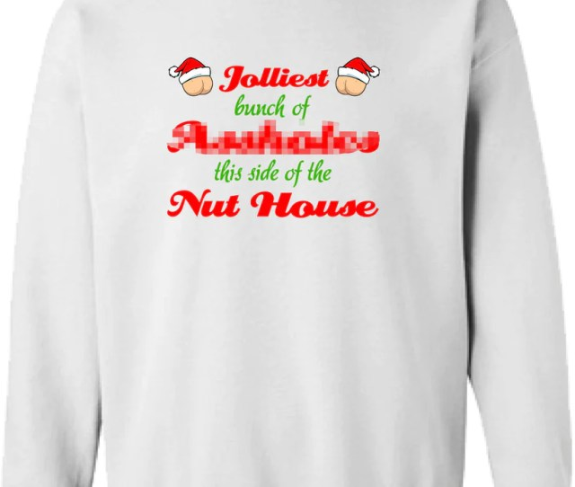 Christmas Vacation Jolliest Bunch Of Assholes This Side Of The Nut House Sweater Shirt Hoodie Ugly