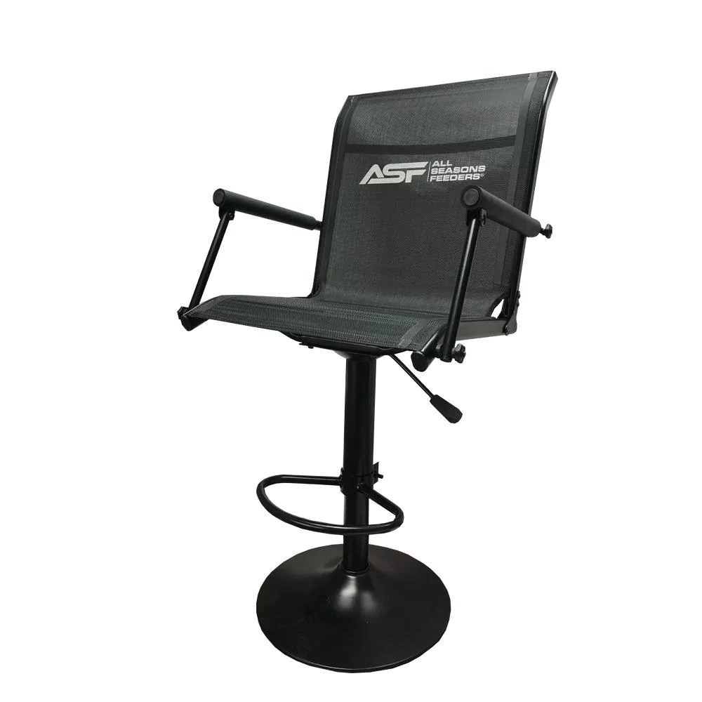 swivel chair not staying up green wing back ez blind