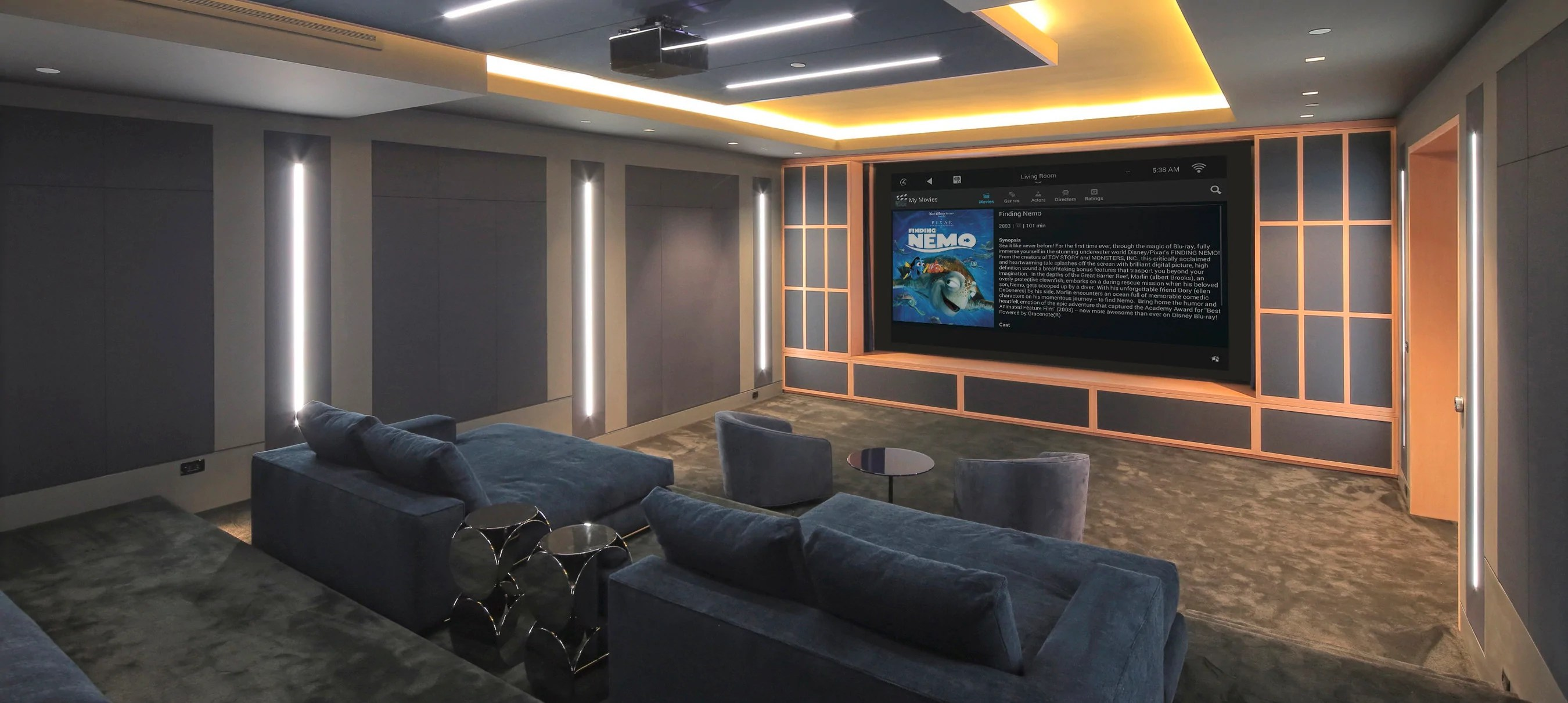 hight resolution of custom home theater installation nyc