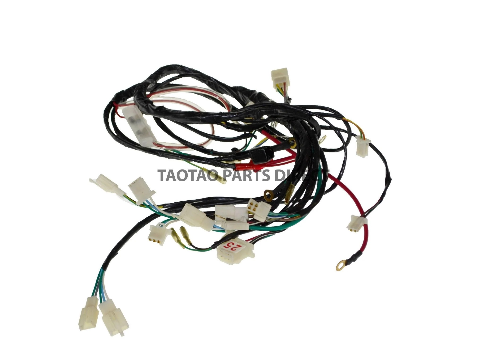 small resolution of atv parts ata250d wire harness 25