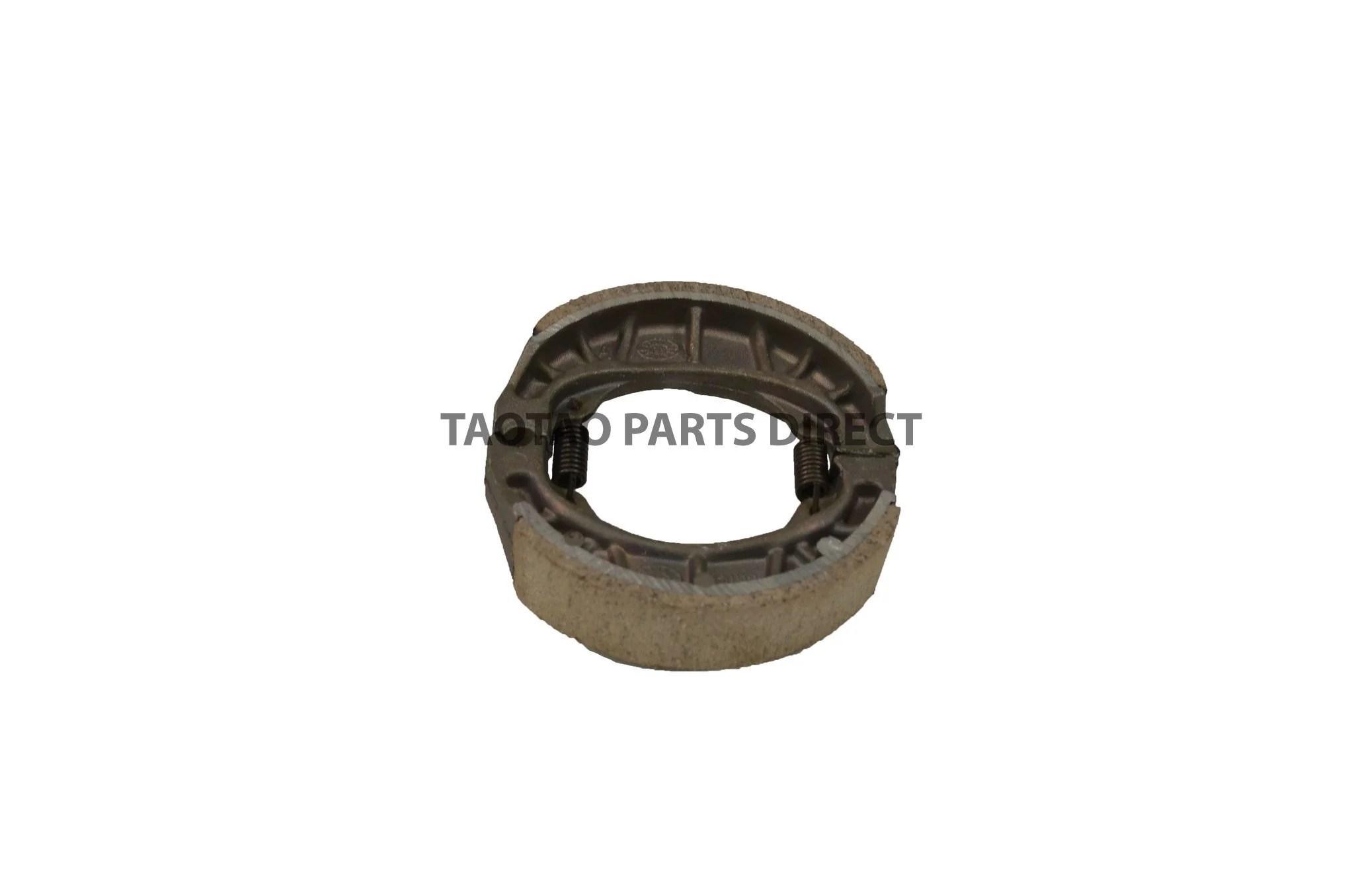 medium resolution of 49cc brake shoes taotaopartsdirect com