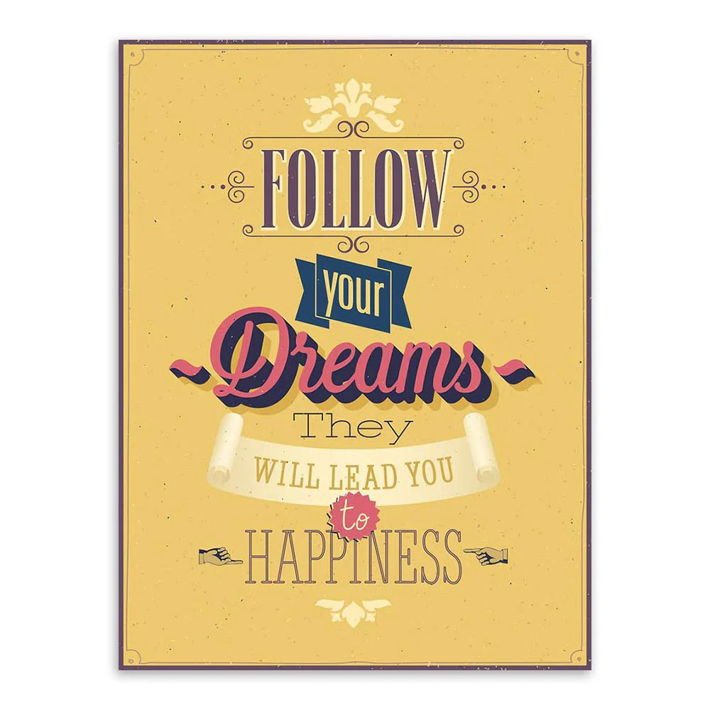Hippie Wall Art Quotes - buy inspiration typography motivation ...