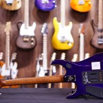 Ernie Ball Music Man John Petrucci Jp15 Purple Sunset Spalted Hiendguitar