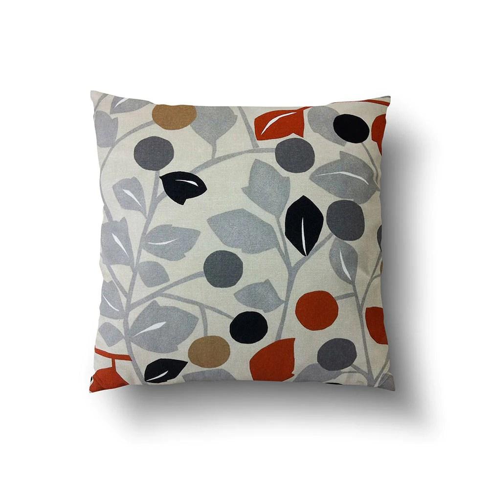 burnt orange throw pillow covers online
