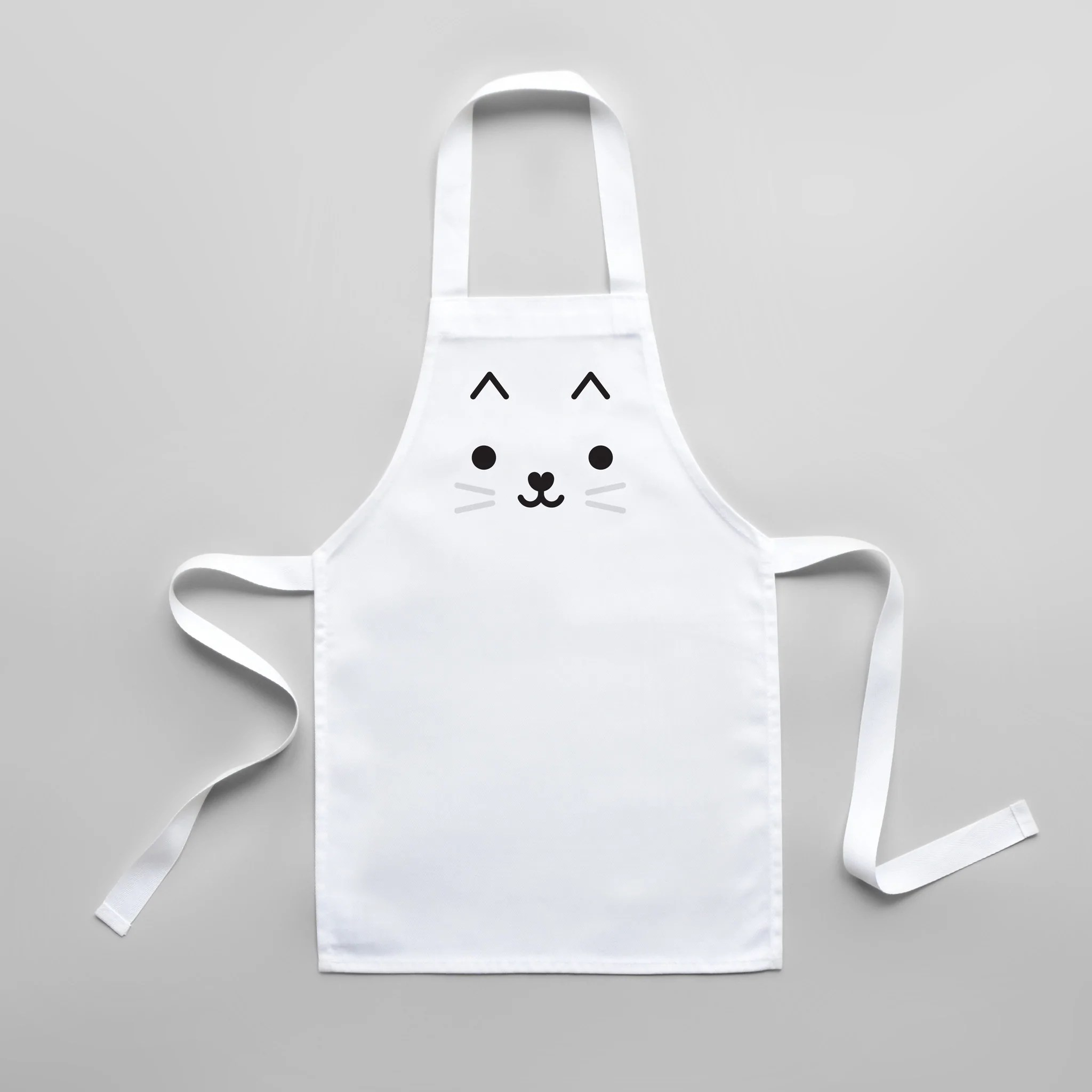 kitchen apron for kids rental nyc buddy and bear cat toddler