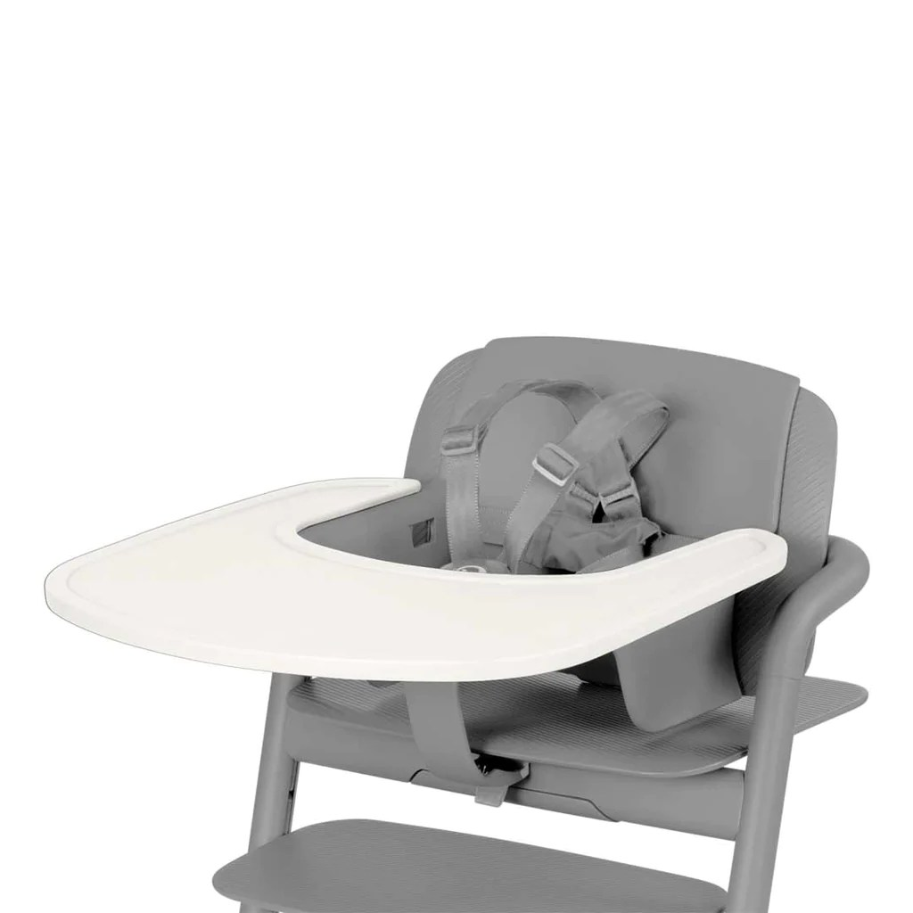 High Chair Tray Cybex Lemo Highchair Tray Porcelaine White