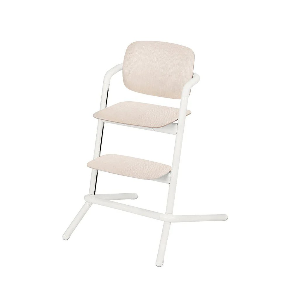 Wooden Baby High Chair Cybex Lemo Wooden Highchair Porcelaine White