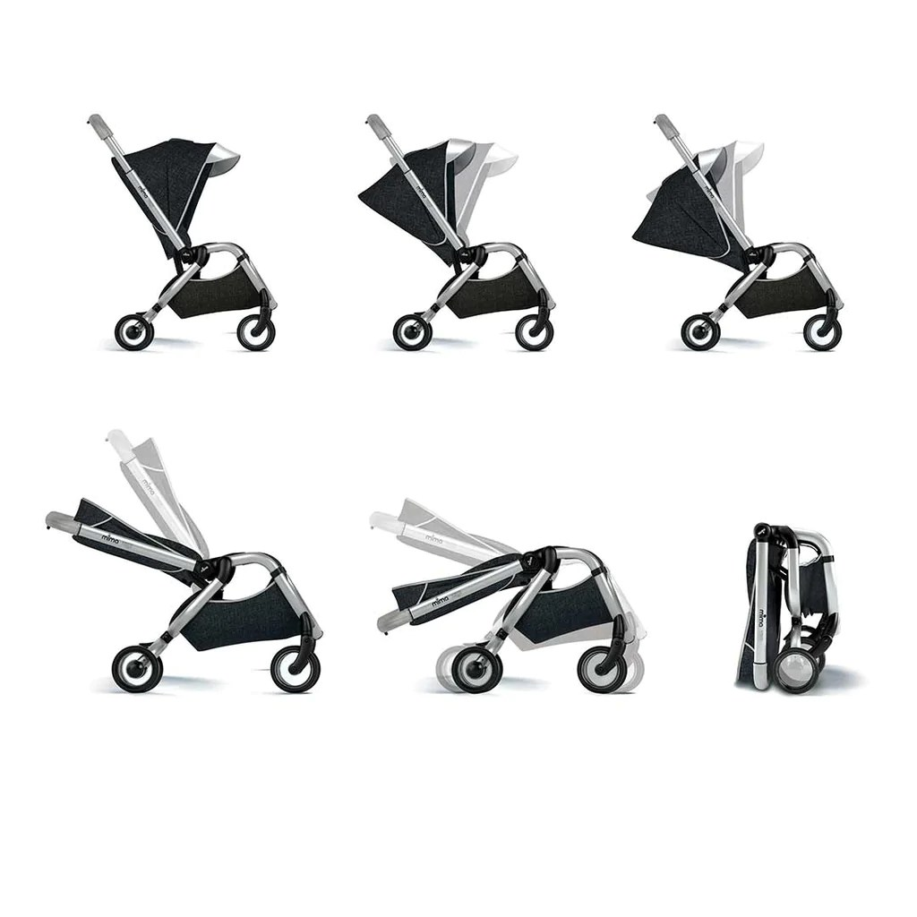 mima high chair australia zuo desk zigi pushchair in charcoal natural baby shower strollers
