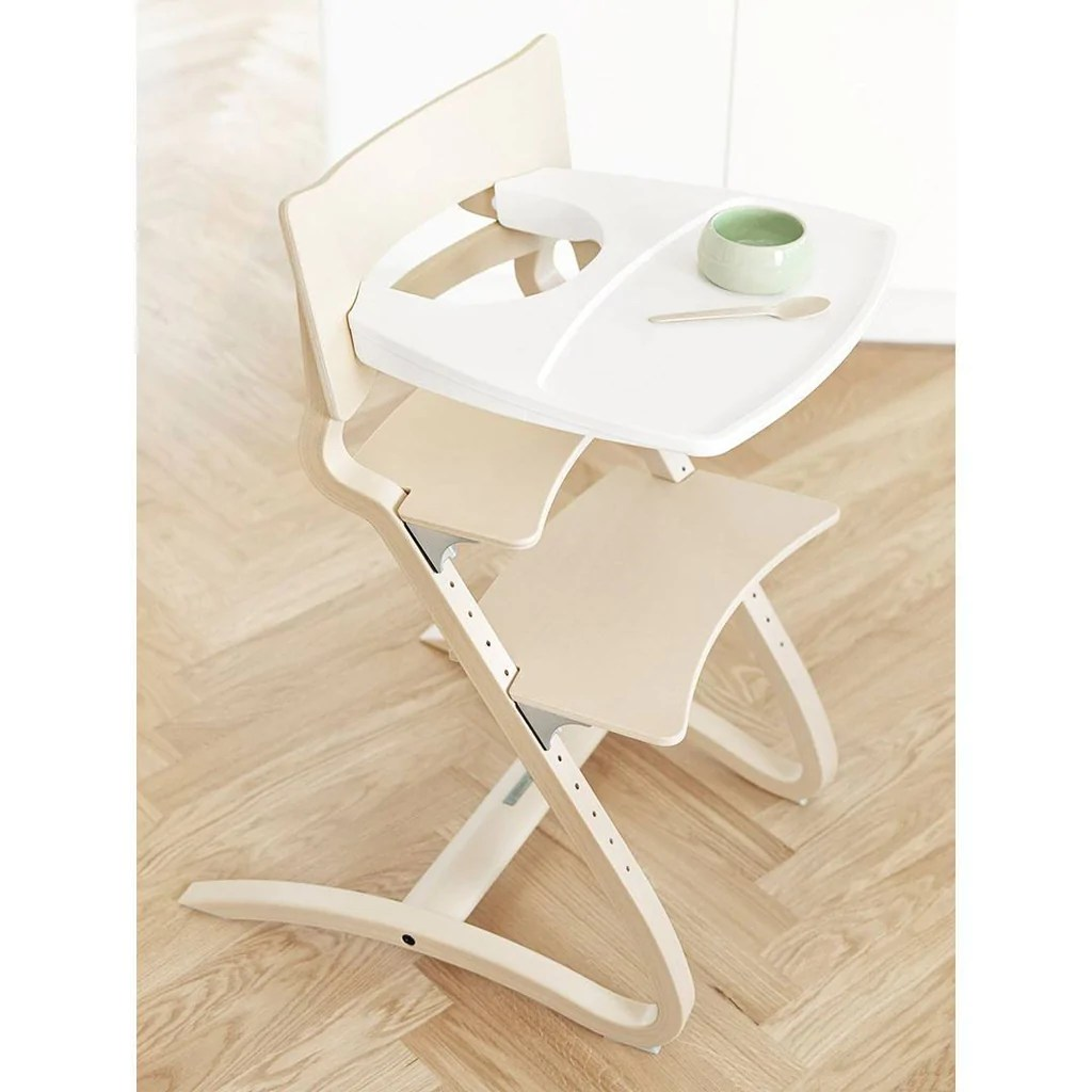 Chair High Chair Leander High Chair Tray White