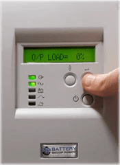 Battery Backup Power Uninterruptible Power Supply (UPS) Output Load